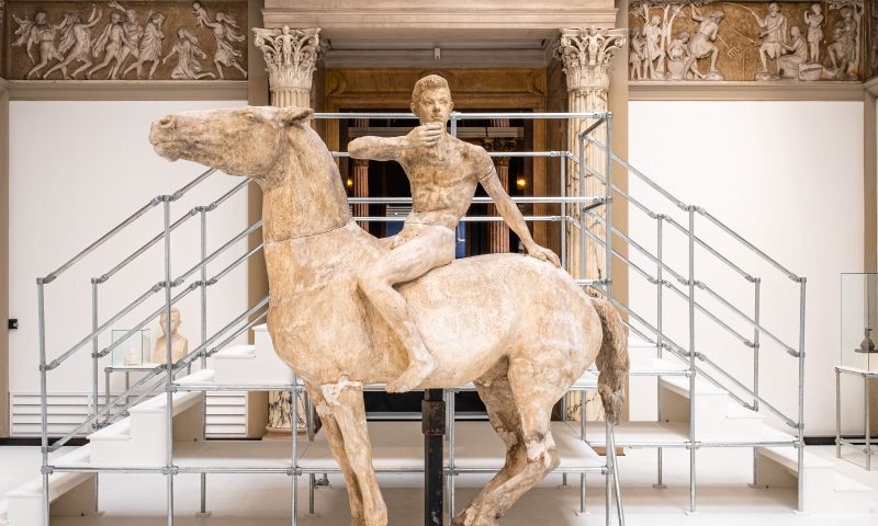 Anne Marie Carl-Nielsens skitser, modeller og afstøbninger udstilles nu på Glyptoteket. Foto: PR